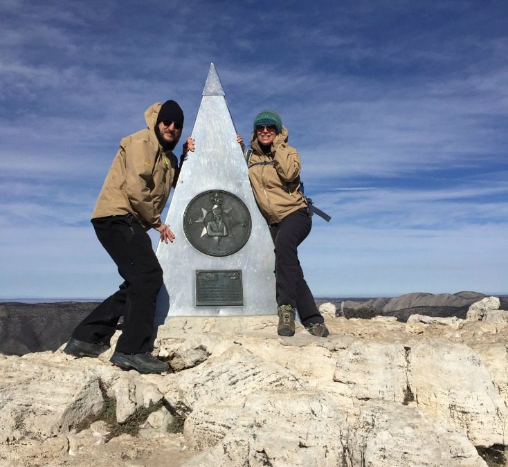Hello From the Top Of Guadalupe Peak