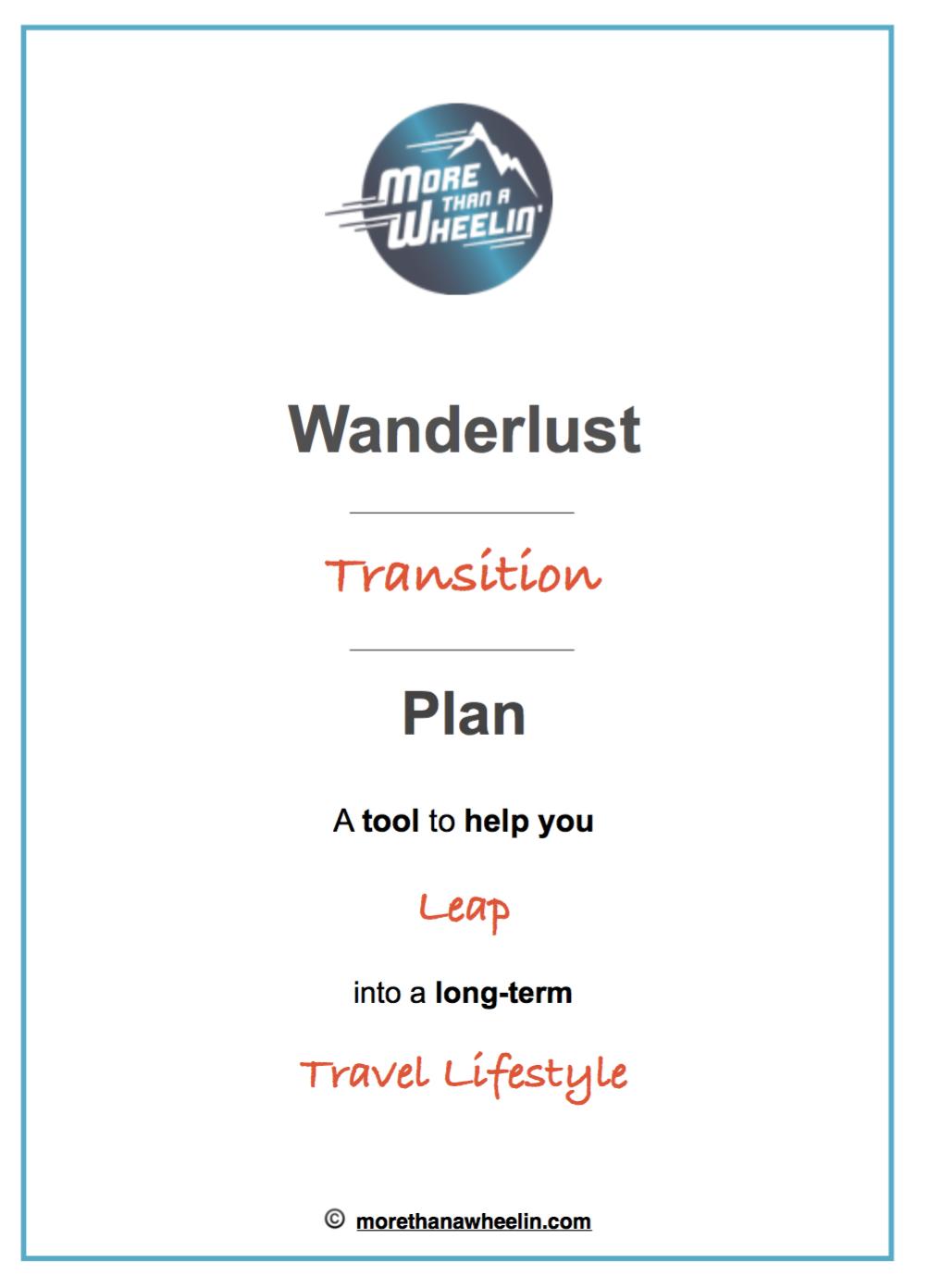 Wanderlust Transition Plan