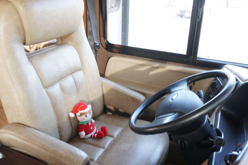 Elf Driving the RV