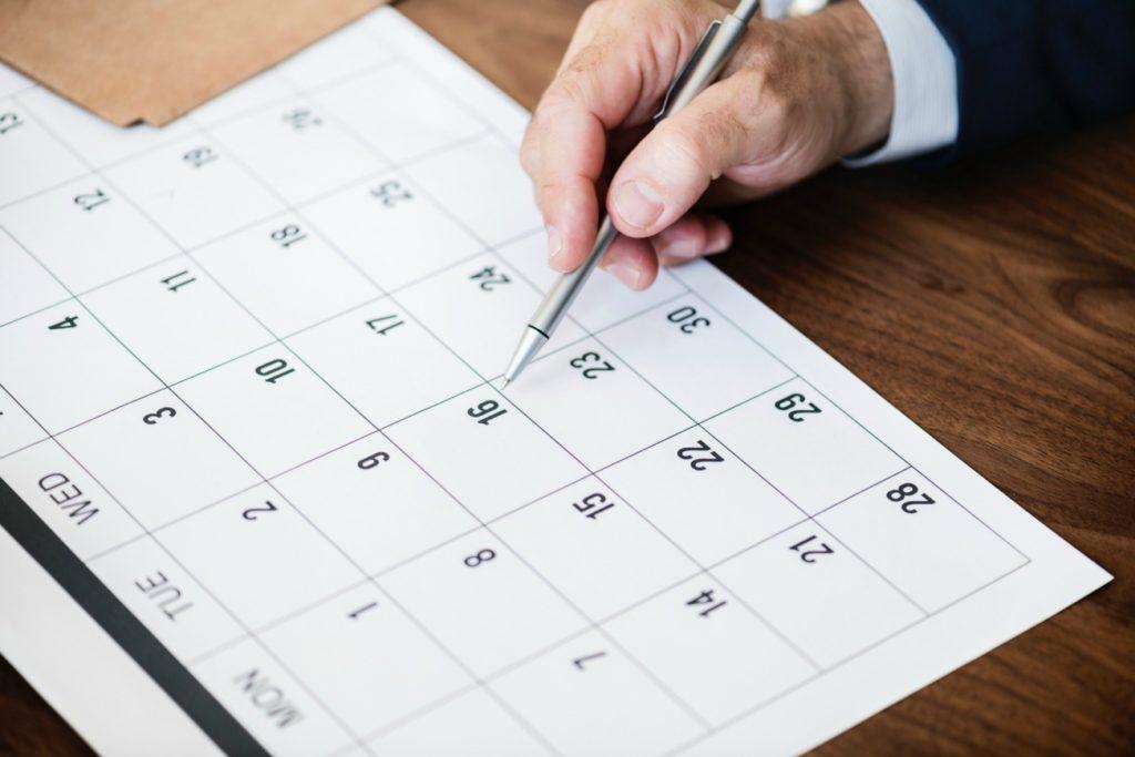 Set a Date - Calendar