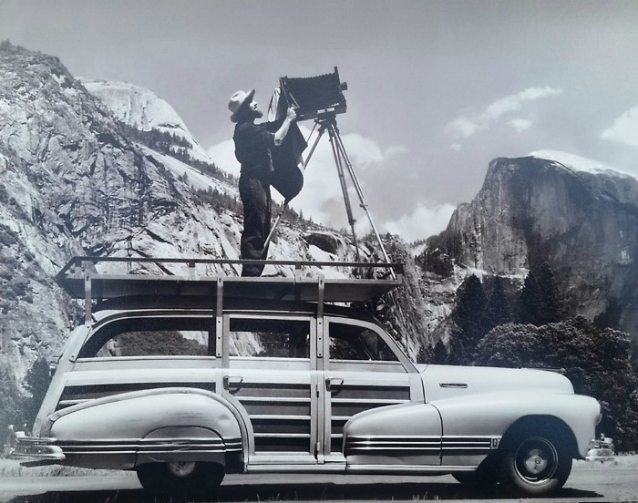 Ansel Adams Station Wagon Yosemite