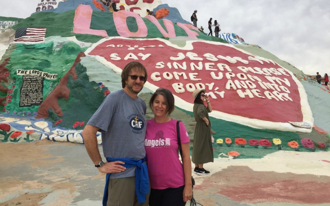 Anza Borrego, The Salton Sea, Slab City and Salvation Mountain