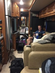 Adjusting to RV space
