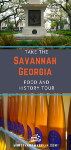 Pin Savannah Georgia Food and History Tour