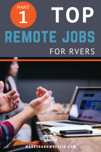Top Remote Jobs For RVers: Part 1