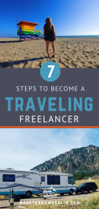 7 steps to become a traveling freelancer