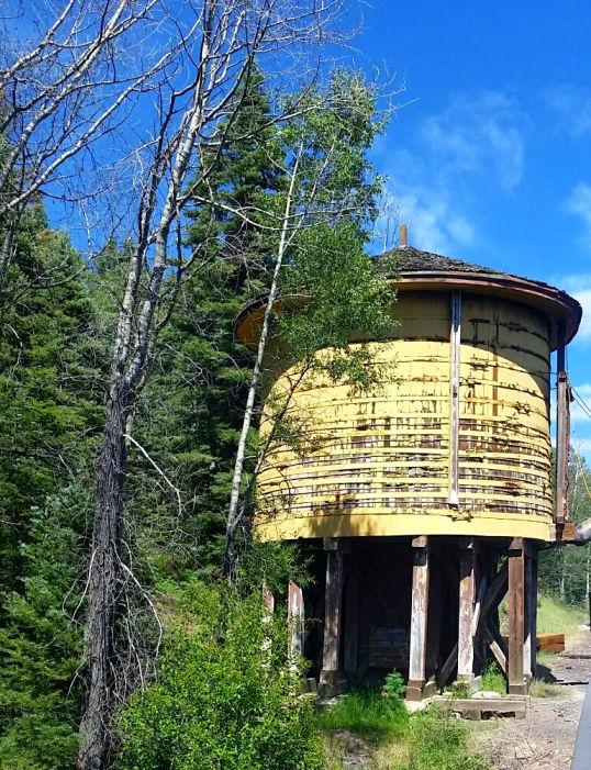 Cumbres Railroad Water Tank