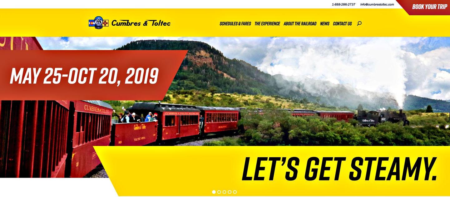 Cumbres & Toltec Web Homepage