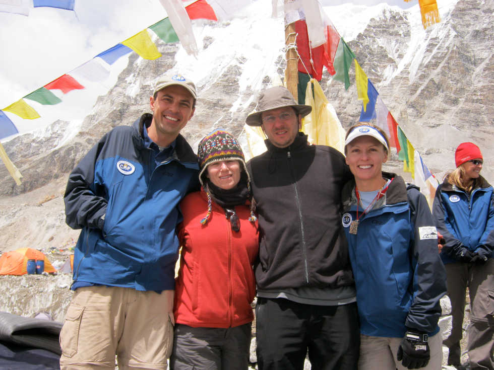 Mount Everest Paul and Denise Fejtek