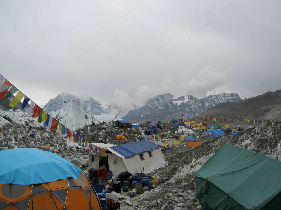 Mt Everest Base Camp Tent City