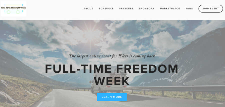 Rv Resources Full-Time Freedom Week